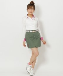 Samantha Thavasa UNDER25&NO.7/★フロントボタンスカート/501363891