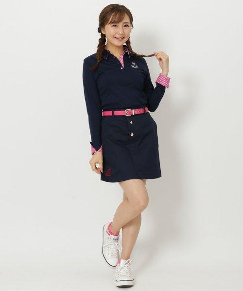 Samantha Thavasa UNDER25&NO.7(サマンサタバサアンダー)/フロントボタンスカート/00771822200003
