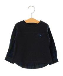 SHIPS KIDS/SHIPS KIDS:スウェット×シャツ コンビ トップス(80~90cm)/501364723