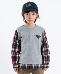 SHIPS KIDS/SHIPS KIDS:スウェット×シャツ コンビ トップス(100~130cm)/501364724