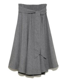 Mila Owen/ウエストゴムシャーリングスカート/501364726