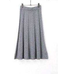 HAPPY EXP/立体デザインプリーツ風ニットスカート/501364945