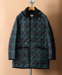417 EDIFICE/《予約》Traditional Weatherwear 別注 DERBY HOOD W/PATCH PKT BLK W/501365049