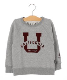 SHIPS KIDS/THE DAY:プリント スウェット(100~130cm)/501365051