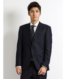 m.f.editorial/【秋冬】メランジヘリンボン紺 2ピーススーツA体レギュラーフィット/501365202