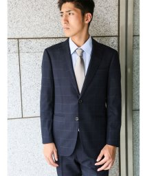 m.f.editorial/【秋冬】コーディネート2パンツスーツ アムンゼンウィンドペン紺 Y体レギュラー/501365216