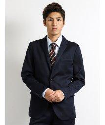 m.f.editorial/シームストレッチセットアップジャケット 紺/501365230