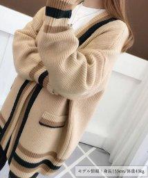 miniministore/秋冬カーディガン ニットカーディガン レディース ニットセーター 羽織り アウター/501365831