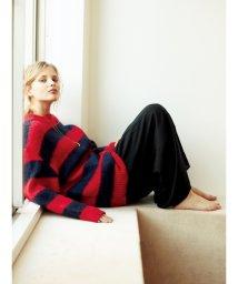 Mila Owen/ベルト付タックパンツ/501365913