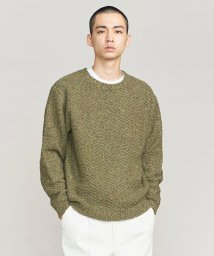 BEAUTY&YOUTH UNITED ARROWS/BY ヘリンボーン クルーネック ニット/501365988
