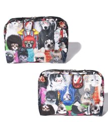 LeSportsac/EXTRA LARGE RECTANGULAR COSMETIC ペッツロック/LS0020976
