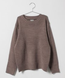 OCEAN&GROUND/Jr. WIDE CREW SWEATER/501126778