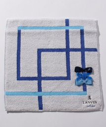 LANVIN en Bleu/リボンタオルハンカチ/501231950