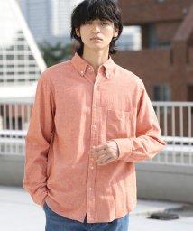 coen/ビエラソリッドネルシャツ/501355108