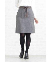 PROPORTION BODY DRESSING/レザーリボンポケットタイトスカート/501363775