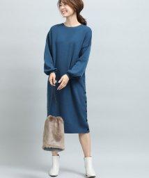 ViS/裾釦ニットワンピース/501366387