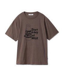 GELATO PIQUE HOMME/【GELATO PIQUE HOMME】ミルクロゴTシャツ/501367365