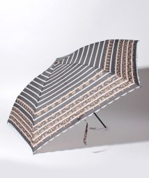 Afternoon Tea LIVING/ボーダーレース折りたたみ傘 雨傘/501349538