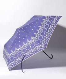 Afternoon Tea LIVING/スカラップレース柄折りたたみ傘 雨傘/501349542