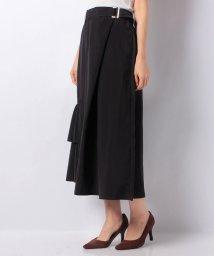 INTERPLANETSELECT/【RAW FUDGE】裾フリルデザインラップ風スカート/501356596