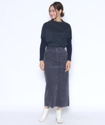 LASUD/【スール soeur7】コーデュロイ ペンシル ロングスカート/501358881