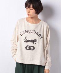 Samansa Mos2/●カレッジロゴトレーナー(猫)/501362043