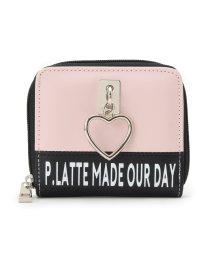 PINK-latte/ハートリング二つ折り財布/501367568