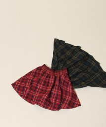 coen/【coen キッズ / ジュニア】タータンチェックスカパン(100~150cm・スカート・ショートパンツ)/501355117