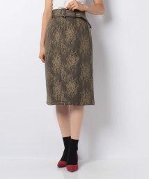 axes femme/薔薇レースタイトスカート/501356281