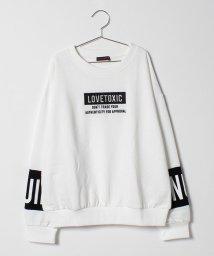 Lovetoxic/ボックスロゴ裏毛トレーナー/501359094