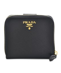 PRADA/【PRADA】二つ折り財布/SAF.METAL ORO 【NERO】/501367853