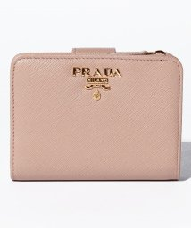 PRADA/【PRADA】2つ折りコンパクト財布 / SAFFIANO METAL ORO 【CIPRIA】/501367856