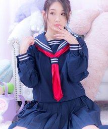 Dita/costume【コスチューム】  学園セーラー 3点セット(ブラウス、スカート、スカーフ )/501368078
