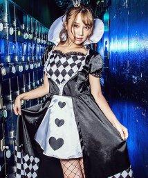 Dita/costume【コスチューム】ブラックサイレント セクシークイーン 2点セット(ワンピース、カチューシャ)/501368088