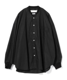 BEAMS MEN/L'ATALIER / ビッグシルエット リブカラーシャツ/501271282