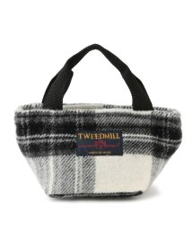 Adam et Rope Le Magasin/【TWEEDMILL】チェックミニトートバッグ/501272482