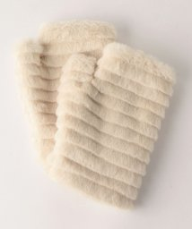 coen/フェイクファーフィンガーレスグローブ(手袋)/501355114