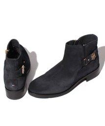 TOMMY HILFIGER WOMEN/スウェード ショート ブーツ/501360071
