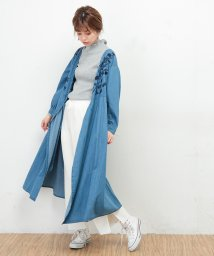 NICE CLAUP OUTLET/【natural couture】デニム刺繍2WAYワンピース/501361266