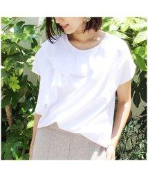 MODE ROBE/フロントフリルTシャツ/501368881