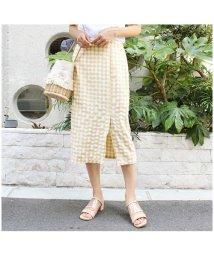 MODE ROBE/ギンガムチェックタイトスカート/501368892