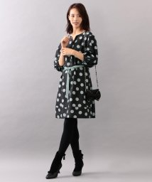 TO BE CHIC/【WEB・店舗限定】【Tricolore】【ウォッシャブル】ポルカボンボンプリントドレス/501369992