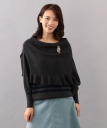 TO BE CHIC/【WEB・店舗限定】【Tricolore】レイヤーニット/501369993
