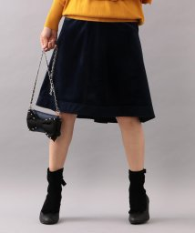 TO BE CHIC/【WEB・店舗限定】【Tricolore】プティコーデュロイスカート/501369996