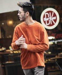 JIGGYS SHOP/カットコーデュロイクルーネックロンT / ロンT メンズ 長袖Tシャツ ロンティー カットソー トップス/501371257