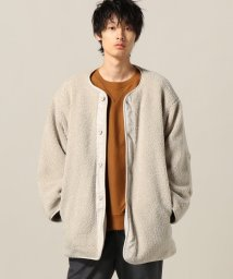 JOINT WORKS/CLANE REVERSIBLE MIL BOA JACKET/501371324