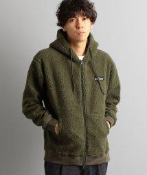 green label relaxing/別注 [ワイルドシングス] SC WILD THINGS GLR ボア ジップ フーディ / パーカー/501371650