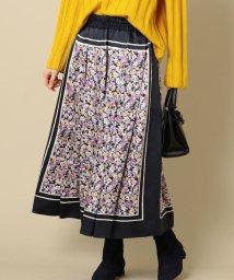 SHIPS WOMEN/PrimaryNavyLabel:フラワープリントスカート/501371739