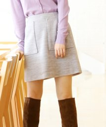 AG by aquagirl/【Sweet12月号掲載】フロントポケットミニスカート/501371959