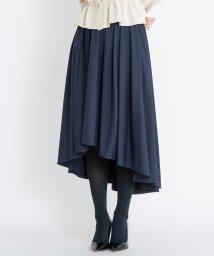 LANVIN en Bleu/イレギュラーヘムスカート/501231881